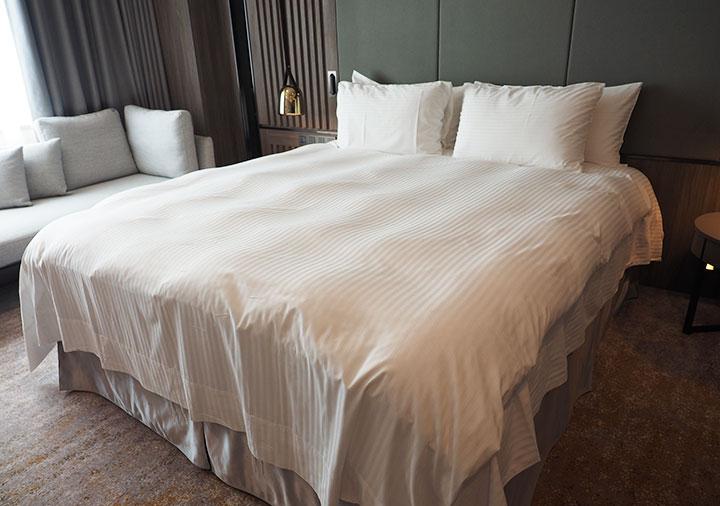 高雄 ハワードプラザホテル高雄 客室のベッド