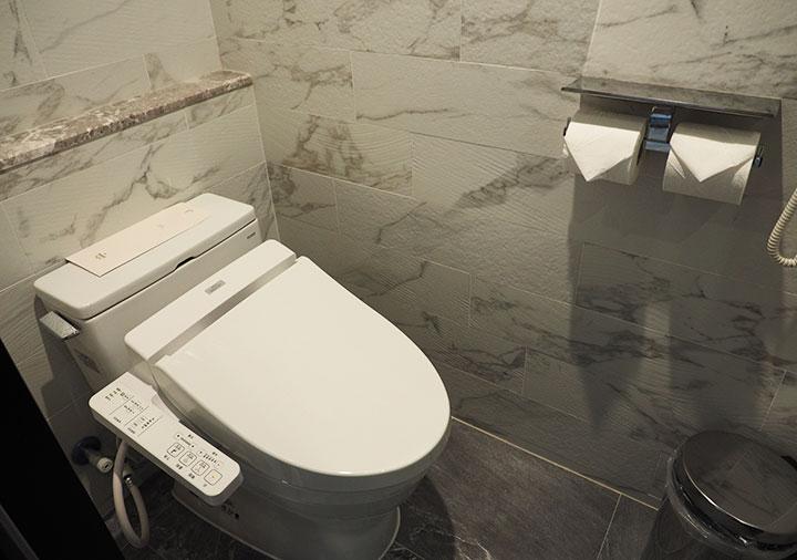 高雄 ハワードプラザホテル高雄 客室のトイレ