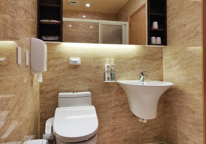 高雄 カインドネスホテル高雄メインステーション 客室のバスルーム