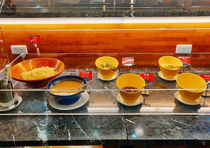 高雄 カインドネスホテル高雄メインステーションの夜食 涼麺