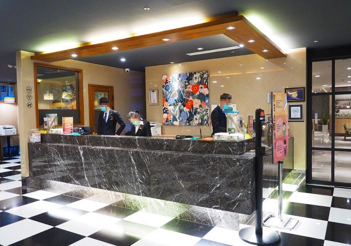 高雄 カインドネスホテル高雄メインステーションのレセプション