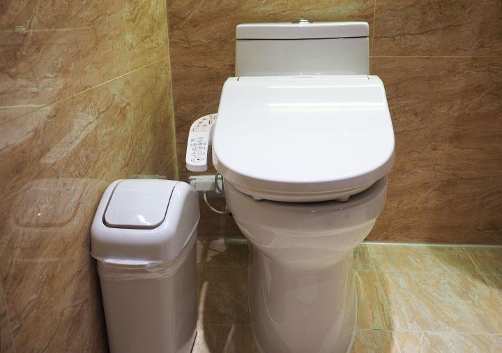 高雄 カインドネスホテル高雄メインステーション 客室のトイレ