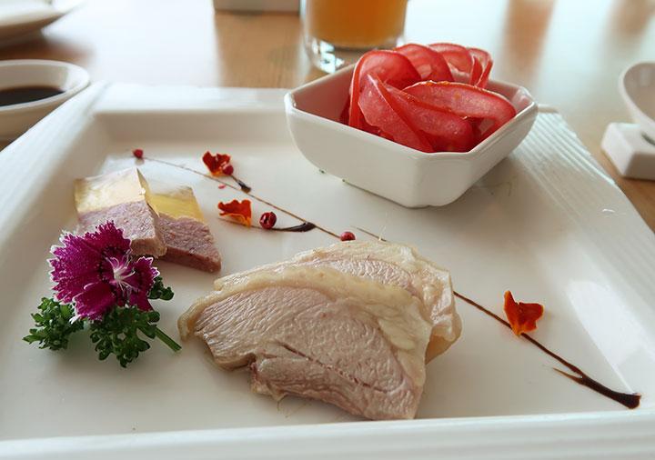 シャングリラ台南 上海パビリオンの前菜