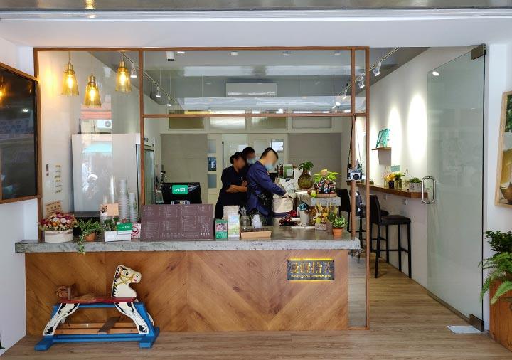 台南のグルメ 漫渡拾光|手作茶飲專賣店|民族門市 台湾茶とタピオカの店
