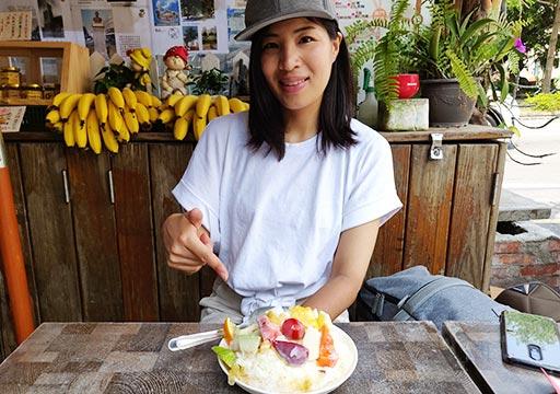 台南のグルメ 莉莉水果店Lily Fruitとニコレナ