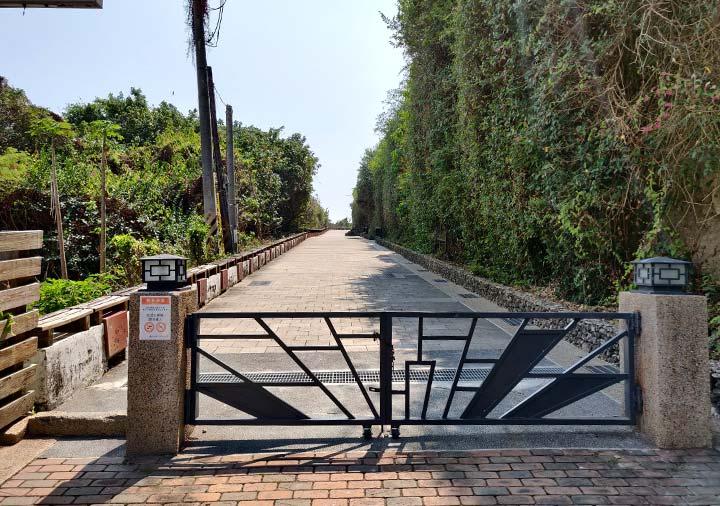 高雄の旗津島 旗津砲台の入り口