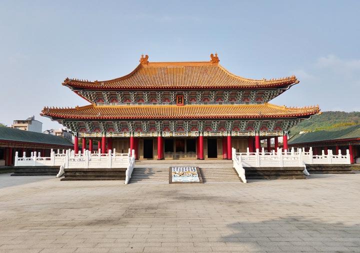 高雄の蓮池潭 孔子廟の大成殿