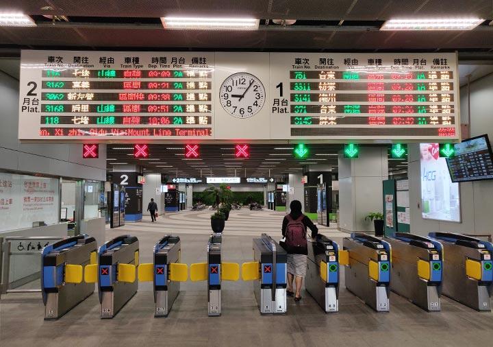 高雄駅の改札