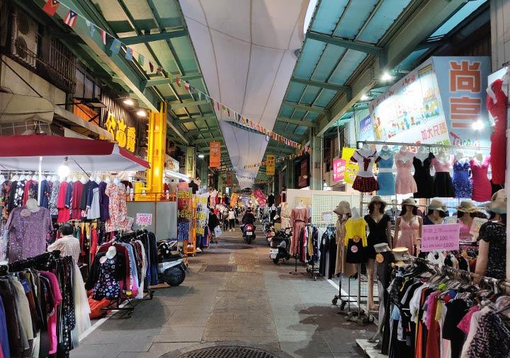 高雄の南華観光夜市 店