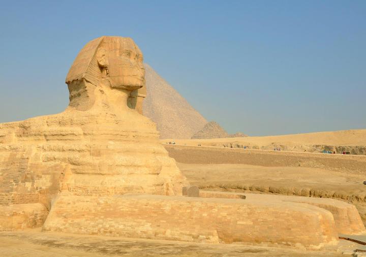 エジプト・ギザのスフィンクス