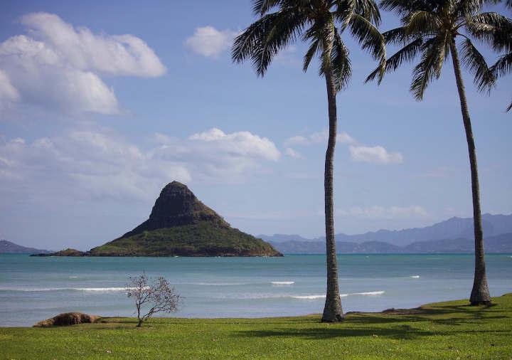 ハワイ オアフ島のビーチ
