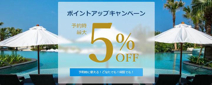 一休.com ポイントアップキャンペーン