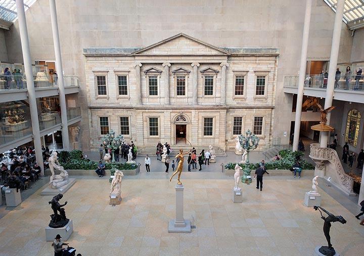 :ニューヨークのメトロポリタン美術館