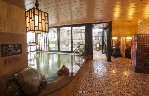 天然温泉 霧桜の湯 ドーミーイン鹿児島 女湯の内湯