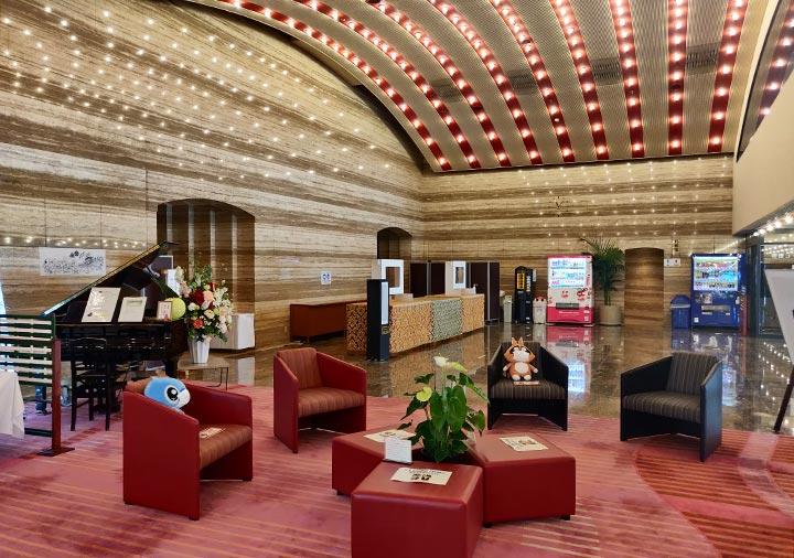 ホテル福岡ガーデンパレス ロビー