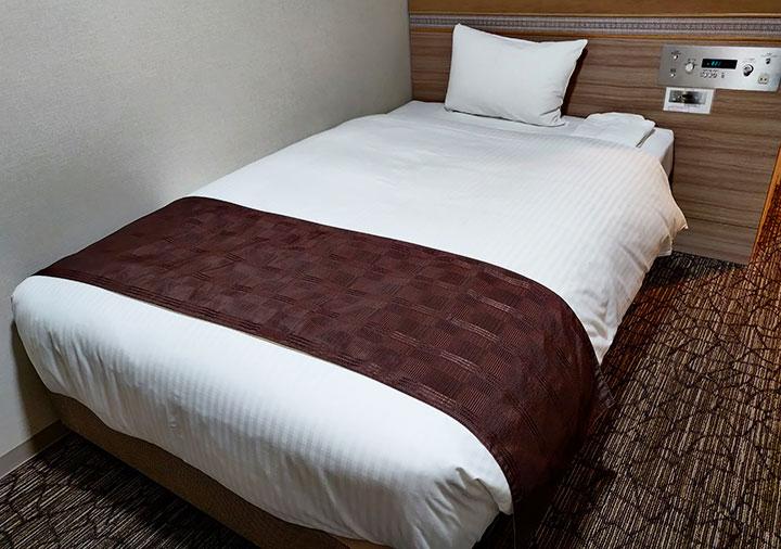 ホテル福岡ガーデンパレス 客室のベッド