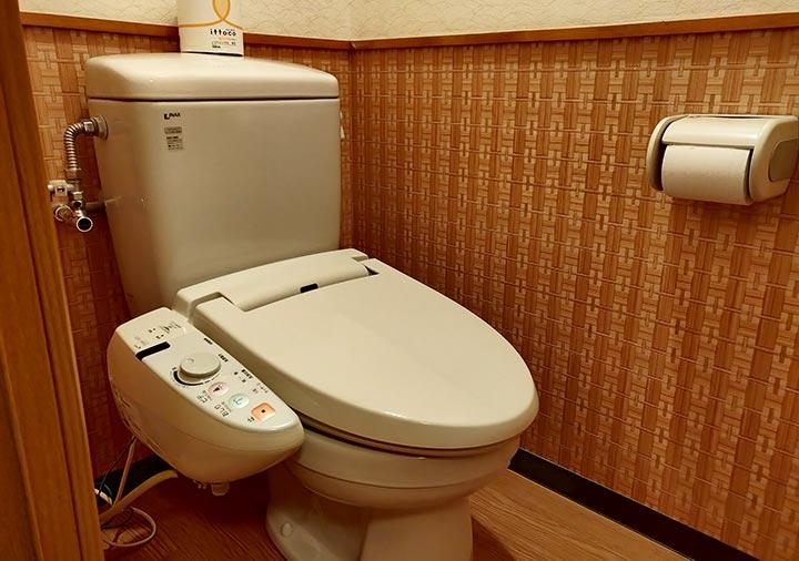 ゲストハウスサンライン別府 客室のトイレ