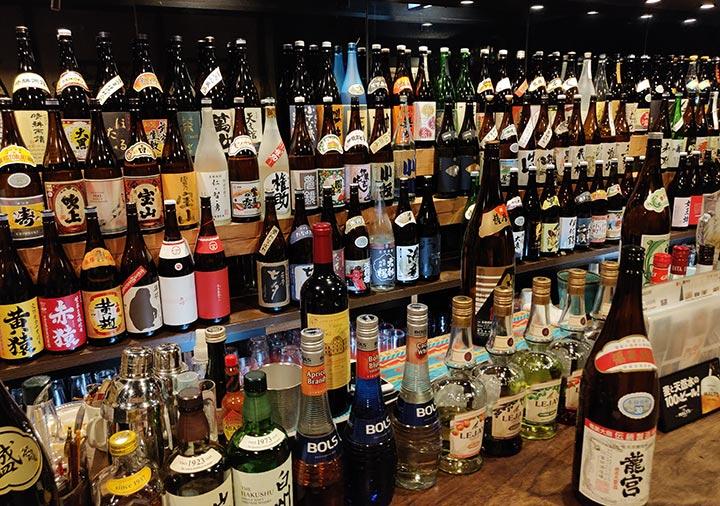 鹿児島 居酒屋みかんの店内