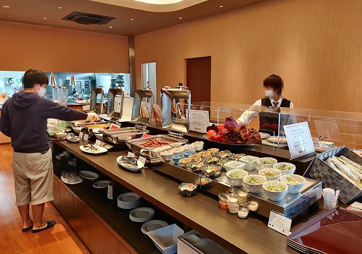 レックスホテル別府 朝食ビュッフェ