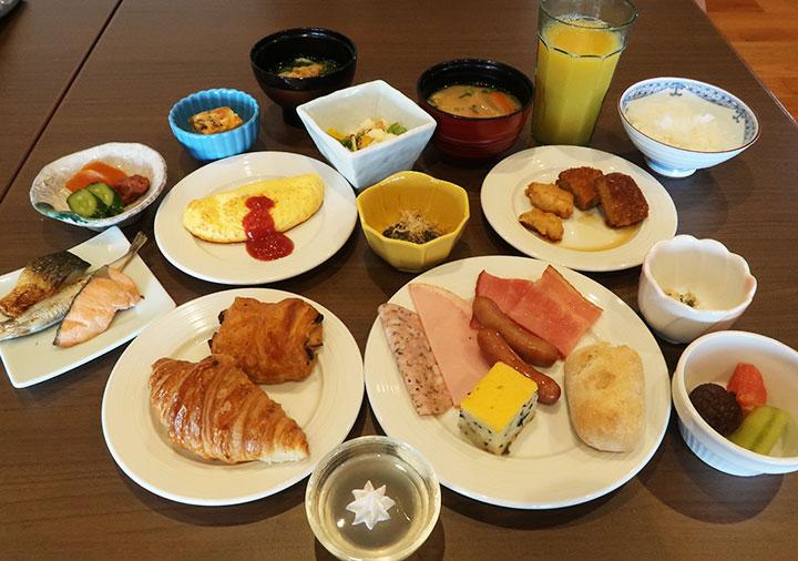 レックスホテル別府 朝食