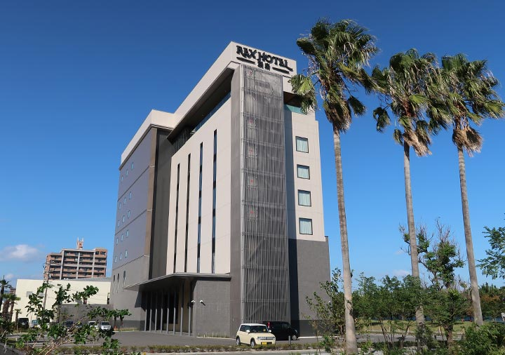 レックスホテル別府 建物