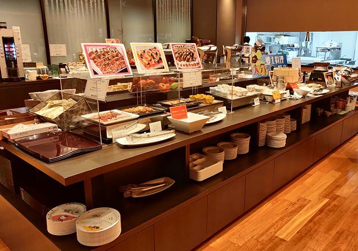 レックスホテル別府 夕食ビュッフェ