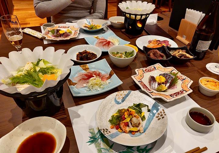 レックスホテル別府 夕食