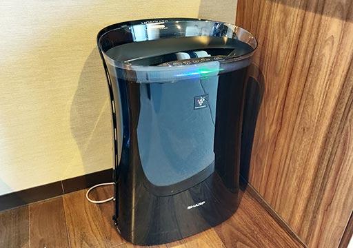 レックスホテル別府 客室の空気清浄機