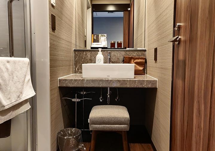 レックスホテル別府 客室のトイレ・バスルーム