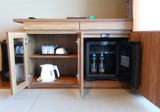 レックスホテル別府 客室のキッチン台
