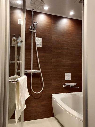 レックスホテル別府 客室のバスルーム
