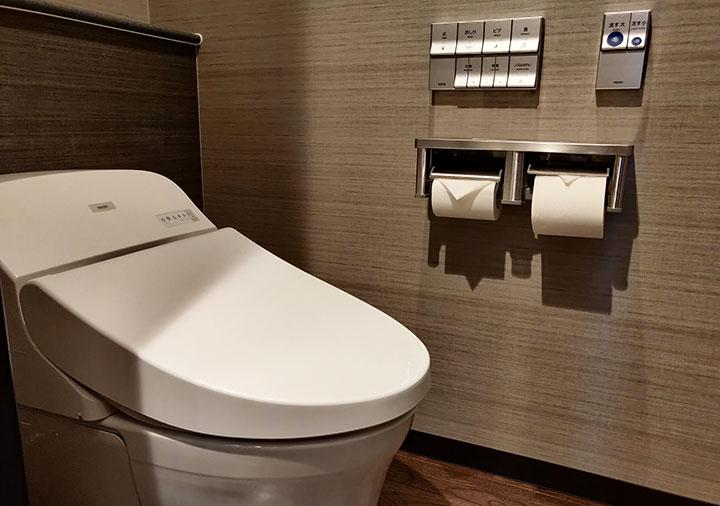 レックスホテル別府 客室のトイレ