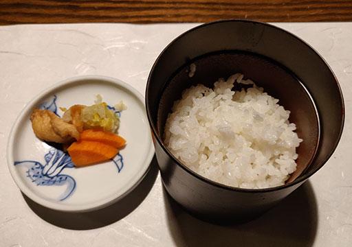 黒川温泉 旅館山河 夕食のご飯