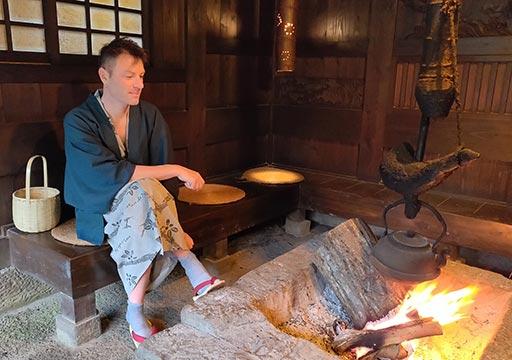黒川温泉 旅館山河 囲炉裏小屋