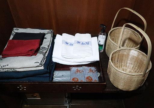 黒川温泉 旅館山河 客室の浴衣