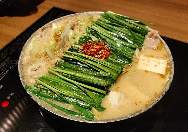 博多もつ鍋おおやま本店 もつ鍋みそ味