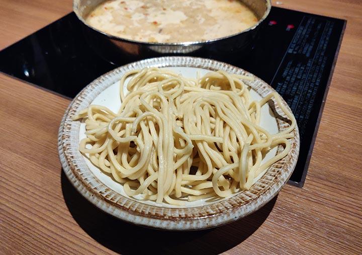 博多もつ鍋おおやま本店 〆のちゃんぽん麺