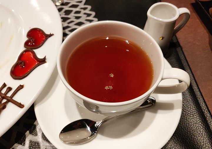 フリューゲル久住 夕食の紅茶
