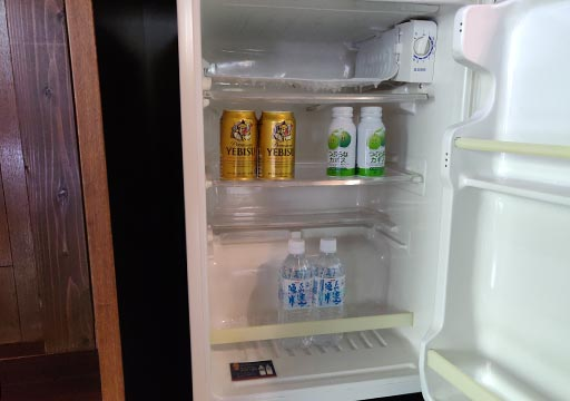 フリューゲル久住 客室の冷蔵庫