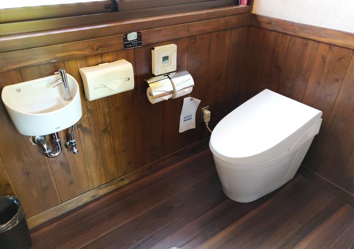 フリューゲル久住 客室のトイレ