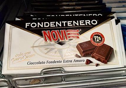 イタリアのチョコレート ノヴィ