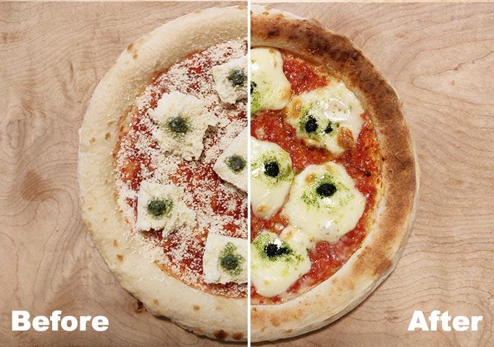 森山ナポリの冷凍ピザ ダブルチーズマルゲリータ