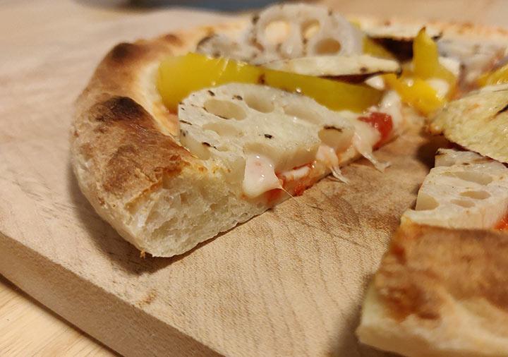 森山ナポリの冷凍ピザ 塩麹加賀野菜