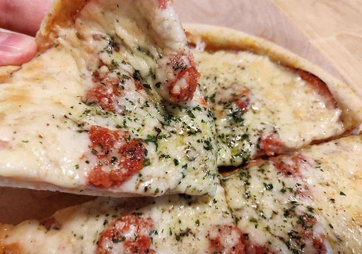 ピザプティギャルソン 冷凍 ピザ パストラミハムとカマンベールのピザ