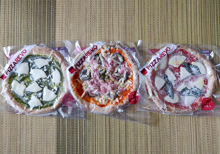 ピザレボ(PIZZAREVO)の冷凍ピザ3枚
