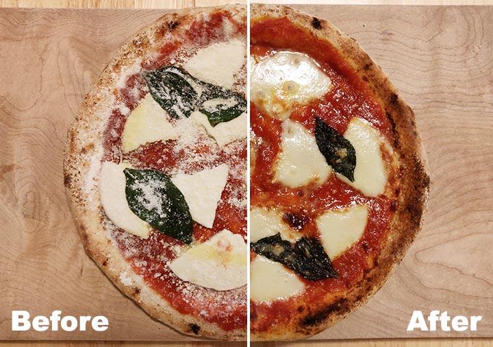 ピザレボ(PIZZAREVO)の冷凍ピザ 極☆マルゲリータ