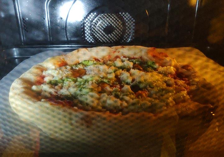 PST六本木の冷凍ピザ 焼き方
