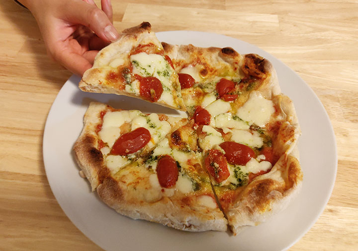 PST六本木の冷凍ピザお取り寄せ Pizza Tamaki