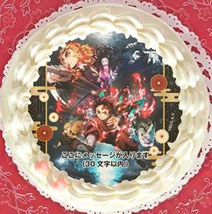 プリロール キャラクターケーキ